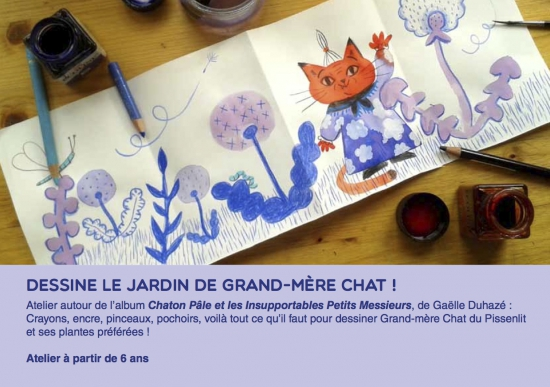 Flyer le jardin de Grand-mère chat.jpg